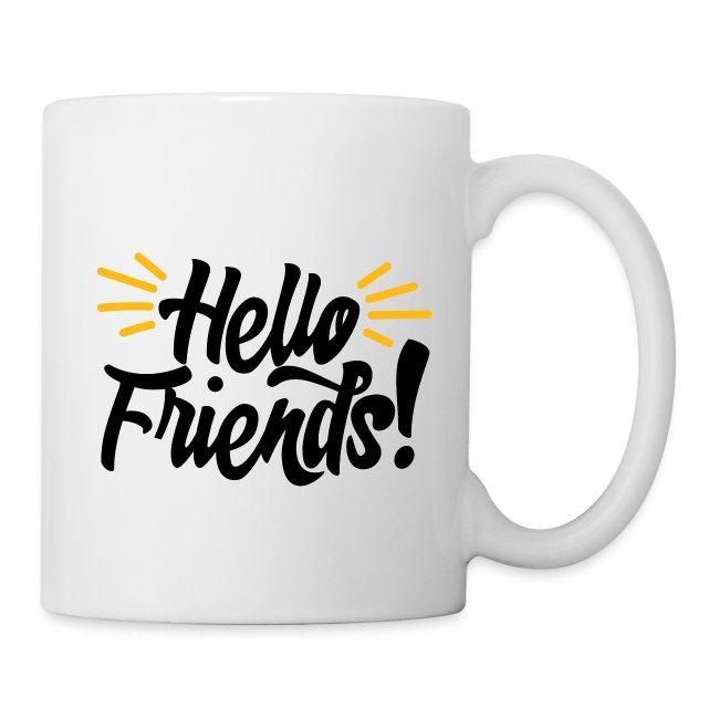 """Hello Friends!"" Coffee Mug"