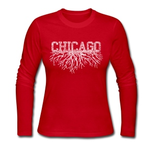 My Chicago Roots - Women's Long Sleeve Jersey T-Shirt