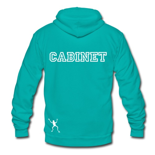 LEAP Cabinet only sweater - frog - minister name - Unisex Fleece Zip Hoodie