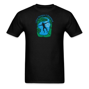 I Flew Because I Dreamed - Men's T-Shirt