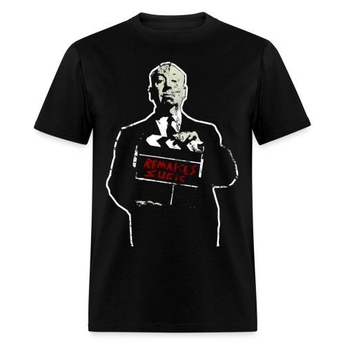 Horror Remakes Suck Hitchcock Horror T Shirt - Men's T-Shirt
