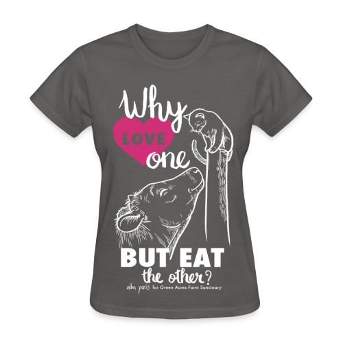 Women's Style Basic T - Why Love One? by Alba Paris White - Women's T-Shirt