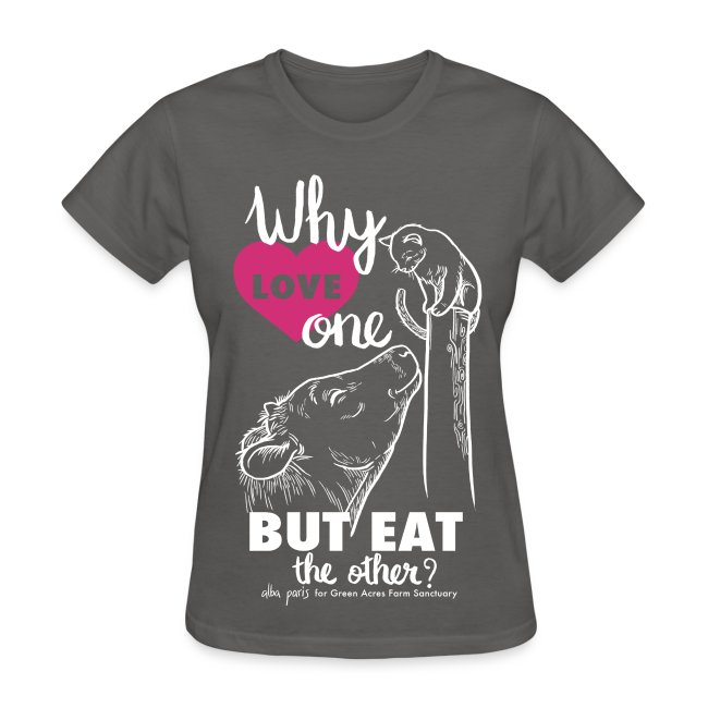 Women's Style Basic T - Why Love One? by Alba Paris White