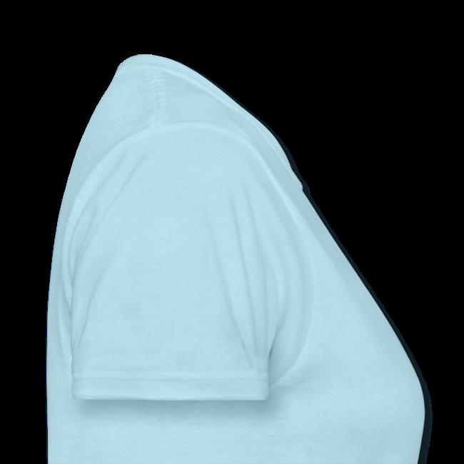 T-shirt pour femmes «Dragon liquide» logo noir