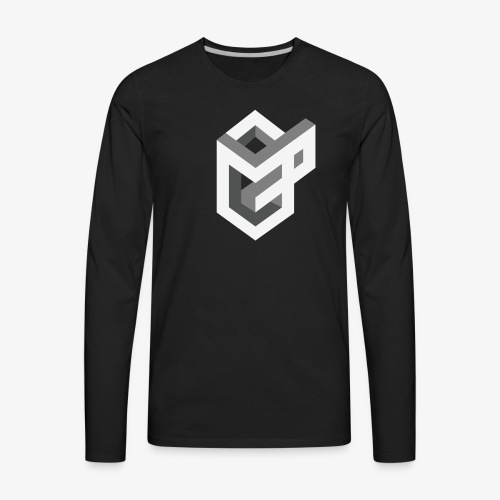 AsGeeksGo Logo Long Sleeve - Men's Premium Long Sleeve T-Shirt