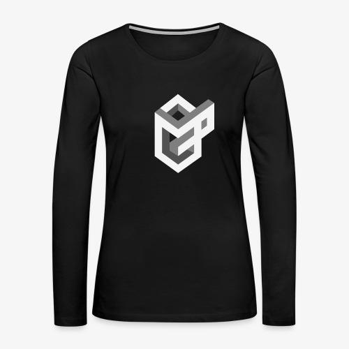 AsGeeksGo Logo Long Sleeve - Women's Premium Long Sleeve T-Shirt