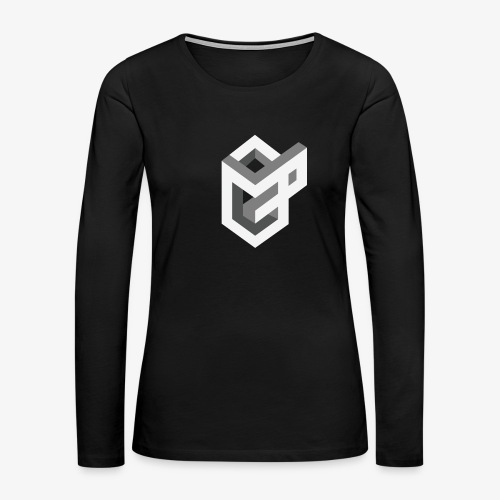 AsGeeksGo Logo Long Sleeve - Women's Premium Long Sleeve T-Shirt