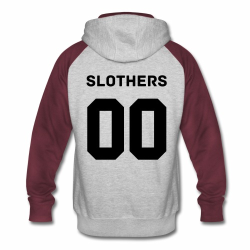 Slothers Special Edition: Women's Hoodie - Colorblock Hoodie