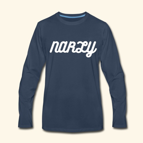 NARLY long sleeve - Men's Premium Long Sleeve T-Shirt