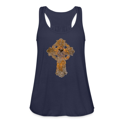Cross_01PNG - Women's Flowy Tank Top by Bella