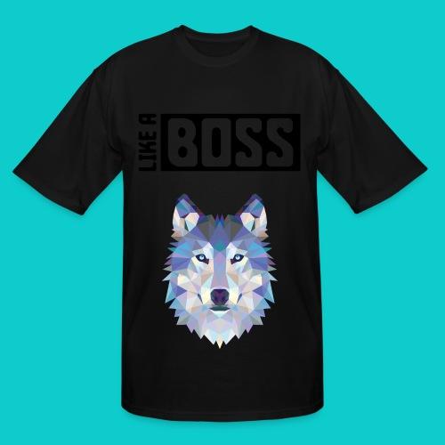 like a boss shirt - Men's Tall T-Shirt