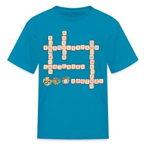 Youtube Scrabble! - Kids' T-Shirt