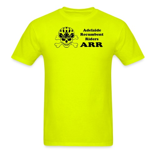 ARR HiVis Yellow T-Shirt - Men's T-Shirt