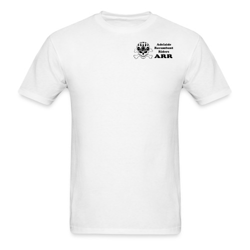 ARR White T-Shirt Small Logo - Men's T-Shirt