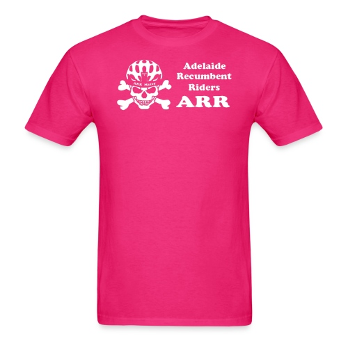 ARR HiVis Pink T-Shirt - Men's T-Shirt