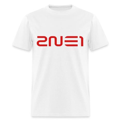 2NE1 Logo Red - Men's T-Shirt