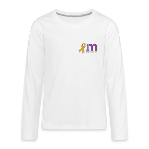 Special Edition: Gold Ribbon Kid's Long Sleeve T-Shirt - Kids' Premium Long Sleeve T-Shirt