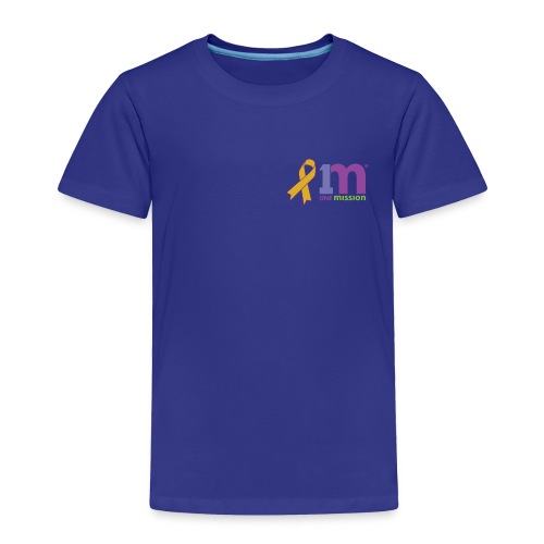 Special Edition: Gold Ribbon Toddler T-Shirt - Toddler Premium T-Shirt