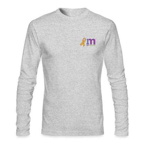 Special Edition: Gold Ribbon Long-Sleeve T-Shirt - Men's Long Sleeve T-Shirt by Next Level