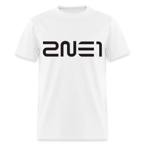 2NE1 Logo Black - Men's T-Shirt