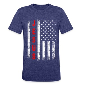 Jesus American Flag Christian Patriotic USA