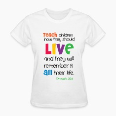 Teach Children Women's T-Shirts