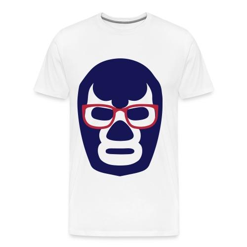 WNA Lucha Mask Logo - Mens - Men's Premium T-Shirt