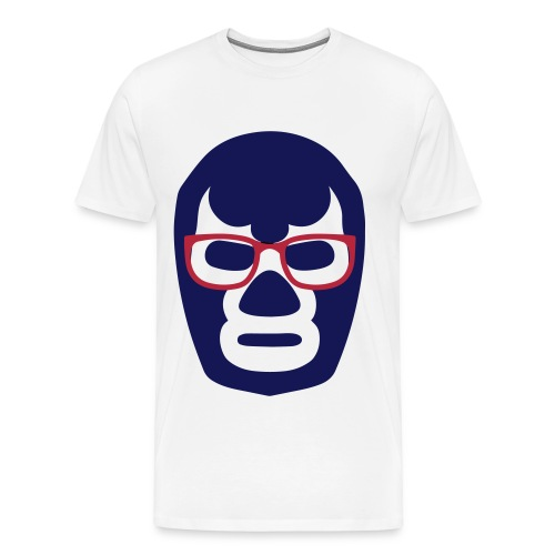 WNA Lucha Mask Logo - Mens - Men's Premium T-Shirt