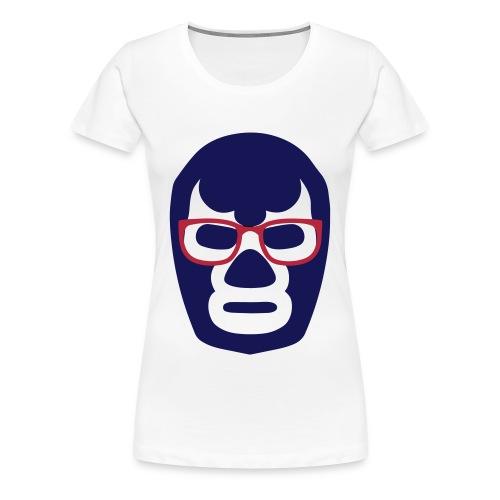WNA Lucha Mask Logo - Womens - Women's Premium T-Shirt