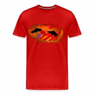 Red Manticore - Men's Premium T-Shirt