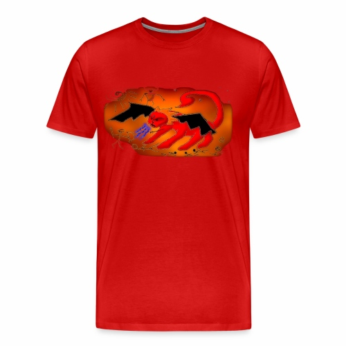Red Manticore - Men's Premium T-Shirt