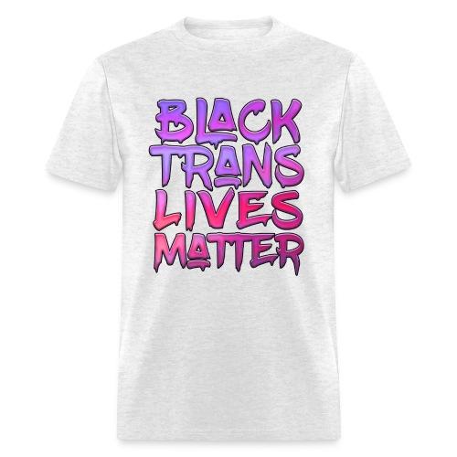 Black Trans Lives Matter - Pink T - Men's T-Shirt
