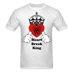 Heart Break King - Men's T-Shirt