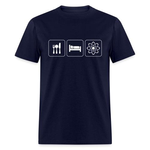 Eat, Sleep, Physics - Normal T - Men's T-Shirt