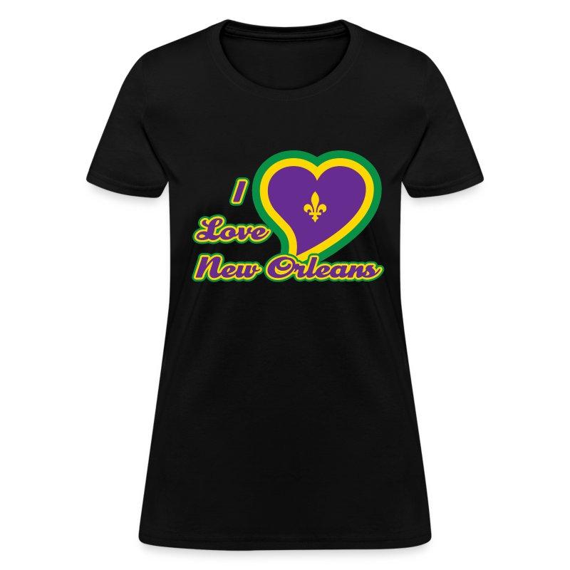 I Love New Orleans T Shirt Spreadshirt