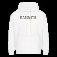 Hoodies ~ Men's Hoodie ~ Namaste Hoodie
