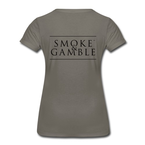 Women's Premium T-Shirt - friskybeaver; smokinbeaver; smokeandgamble;