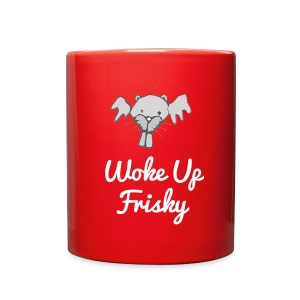 Frisky Beaver Morning Mug - Full Color Mug
