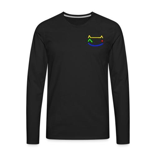 Winking Cat - Men's Premium Long Sleeve T-Shirt
