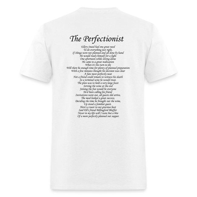 Saga - The Perfectionist Lyric T
