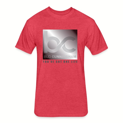 Bud Logo YGOL - Fitted Cotton/Poly T-Shirt by Next Level