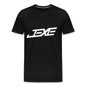 (White On Black) - JeXe Clan [T - Shirt] - Men's Premium T-Shirt