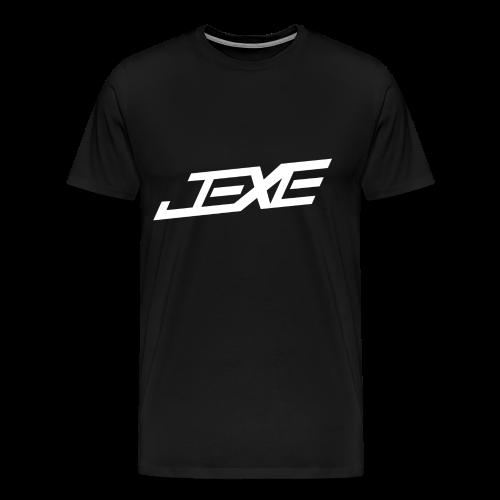 (White On Black) - JeXe Clan [T - Shirt] - Men's Premium T-Shirt