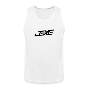 (Black On White) - JeXe Clan [Tank Top] - Men's Premium Tank