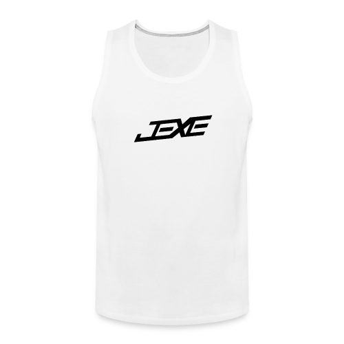 (Black On White) - JeXe Clan [Tank Top] - Men's Premium Tank