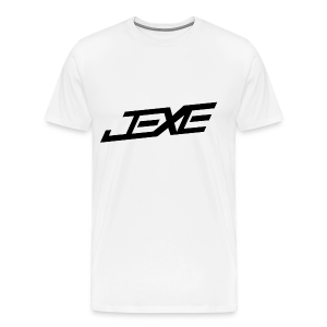 (Black On White) - JeXe Clan [T - Shirt] - Men's Premium T-Shirt