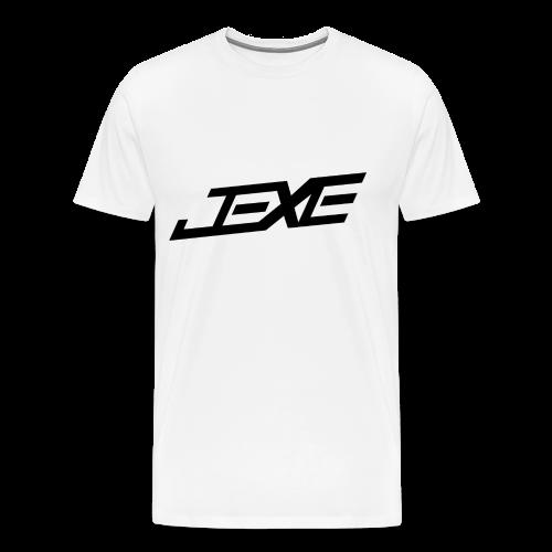 (Black On White) - JeXe Clan [T - Shirt] - Men's Premium T-Shirt