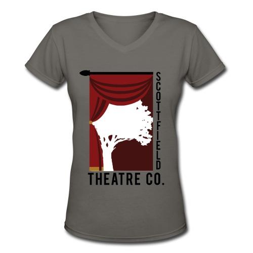 Scottfield V-neck Tee - Women's V-Neck T-Shirt
