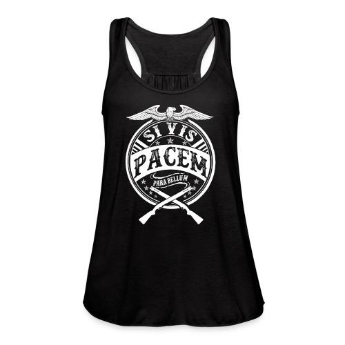 Si Vis Pacem Para Bellum - Women's Flowy Tank Top by Bella