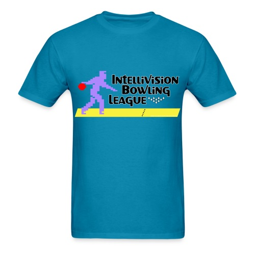 Intellivision Bowling League shirt - Men's T-Shirt